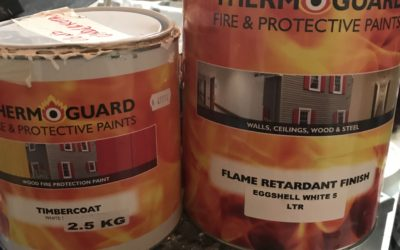 Fire Proof Painting and Decorating and Fire Proof Building Certificates